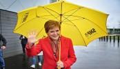 Scottish election 2021: Nicola Sturgeon celebrates 'historic' SNP election win