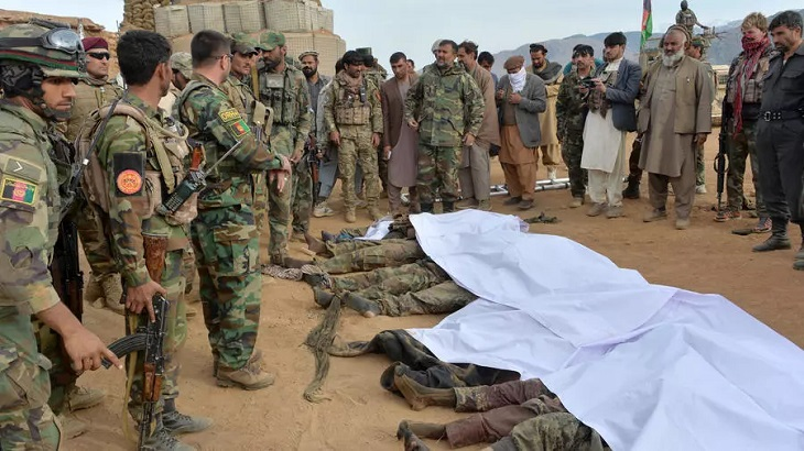 Taliban and Afghan forces declare Eid holiday ceasefire as violence soars