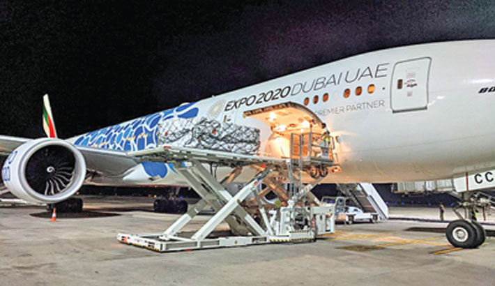 Emirates to transport urgent Covid-19 relief items