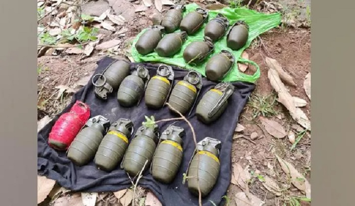 Security forces recover 19 grenades from J-K's Poonch