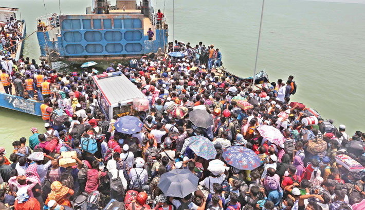 Ban on ferry services lifted