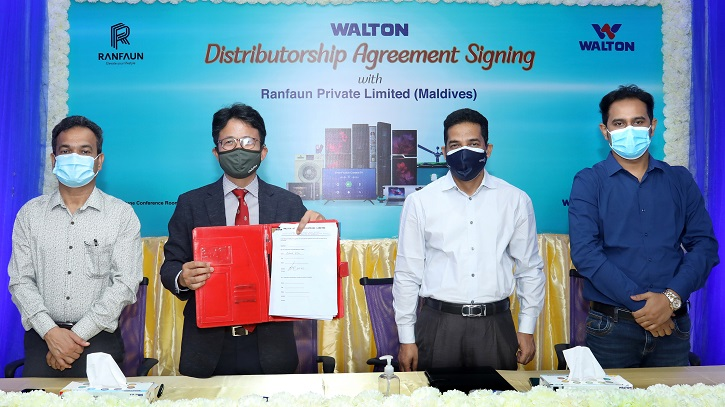 Walton starts exporting products to Maldives with ACs