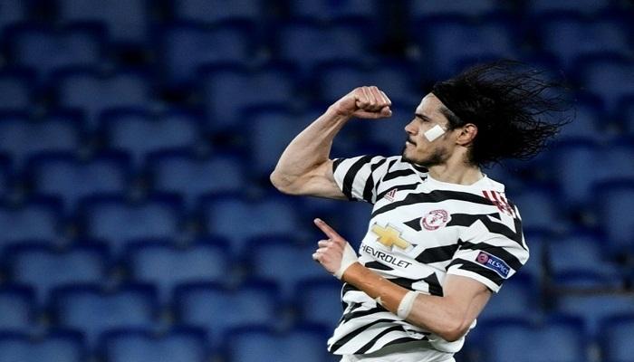 Cavani extends Man Utd contract to 2022