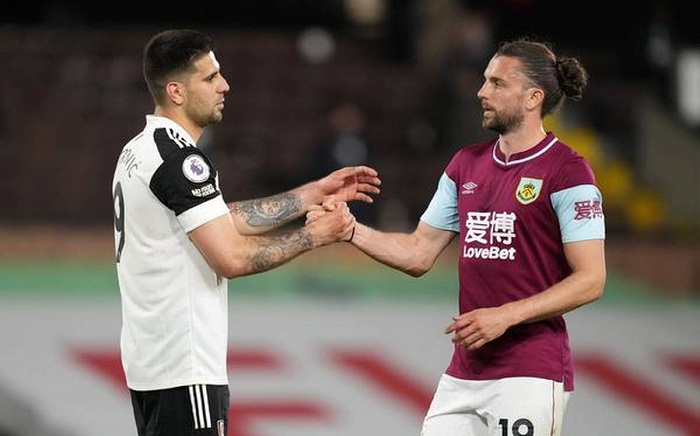 Fulham relegated from Premier League after Burnley loss