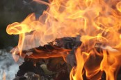 Banani multi-storey building catches fire