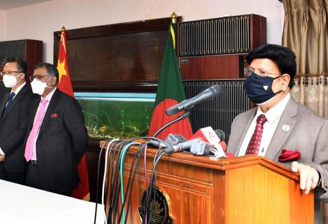 Bangladesh thanks China; seeks larger amount of vaccine doses