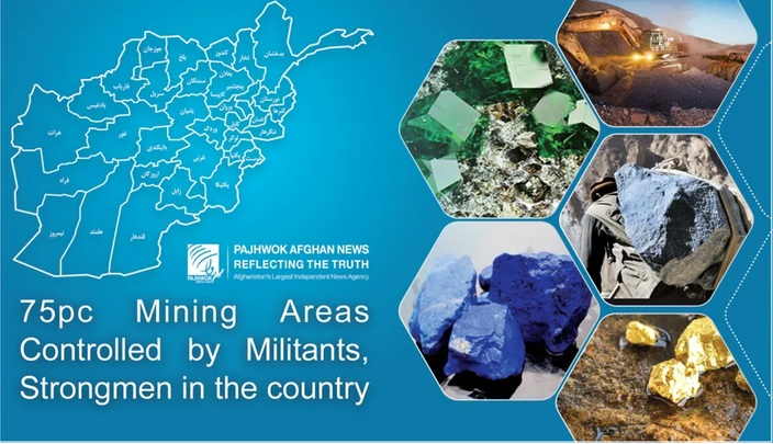 75pc of mining sites controlled by militants and strongmen