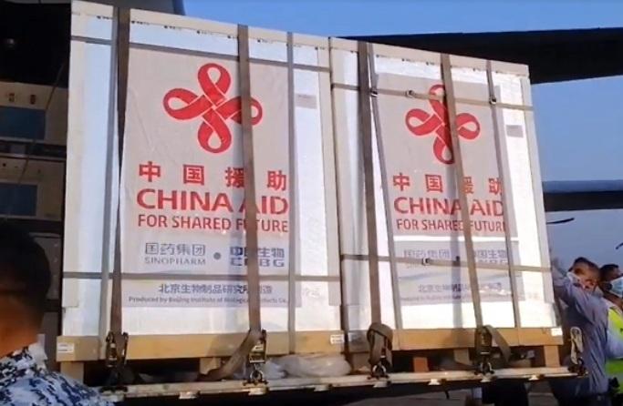 Chinese vaccine Sinopharm in Dhaka