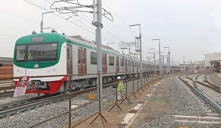 Dream metro rail completes test run