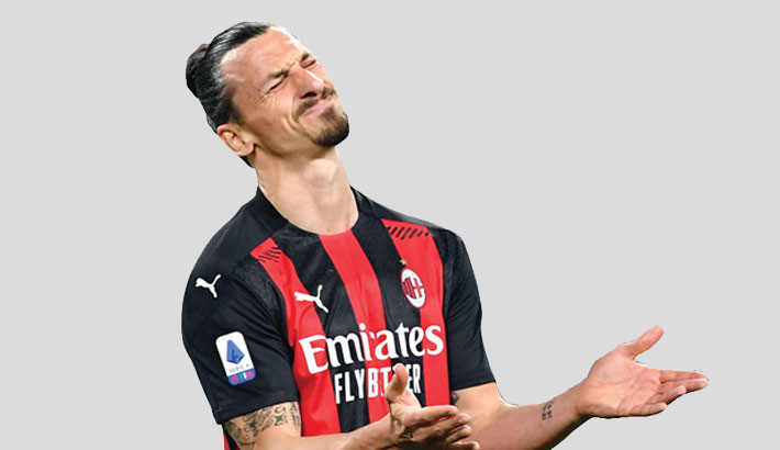 Ibrahimovic to miss at least two Milan games