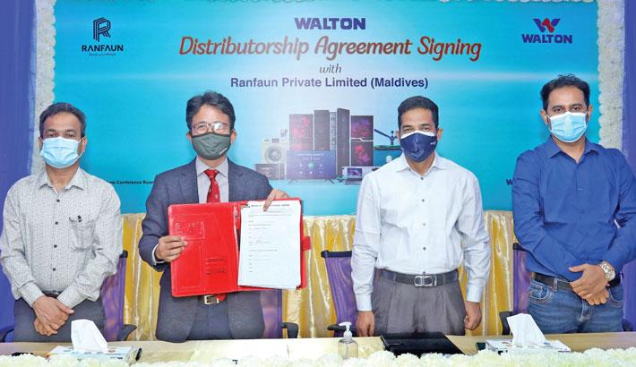 Walton starts exporting products to Maldives