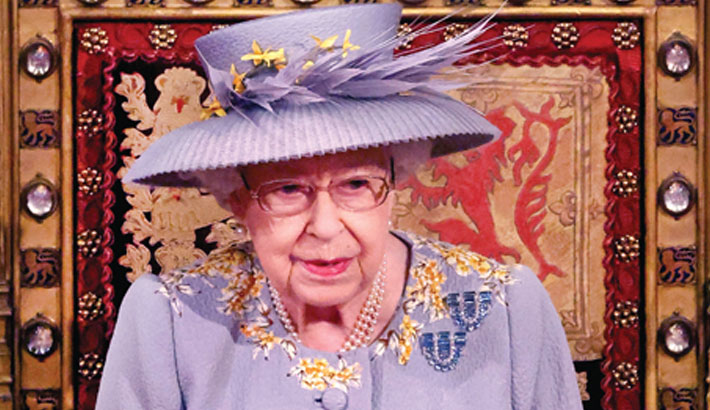 Queen sets out UK govt's post-pandemic agenda