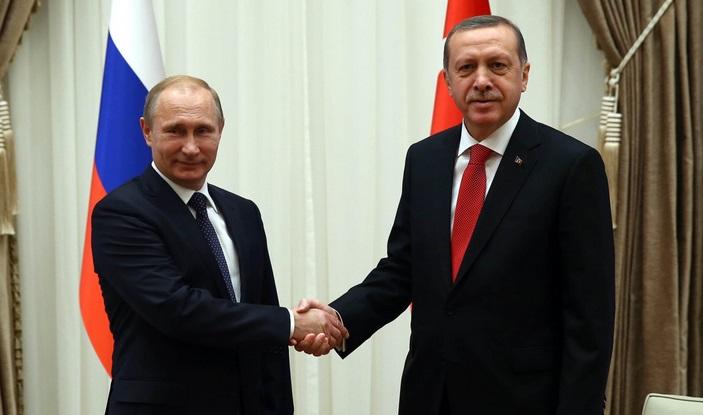 Erdogan, Putin discuss Israel clashes in call