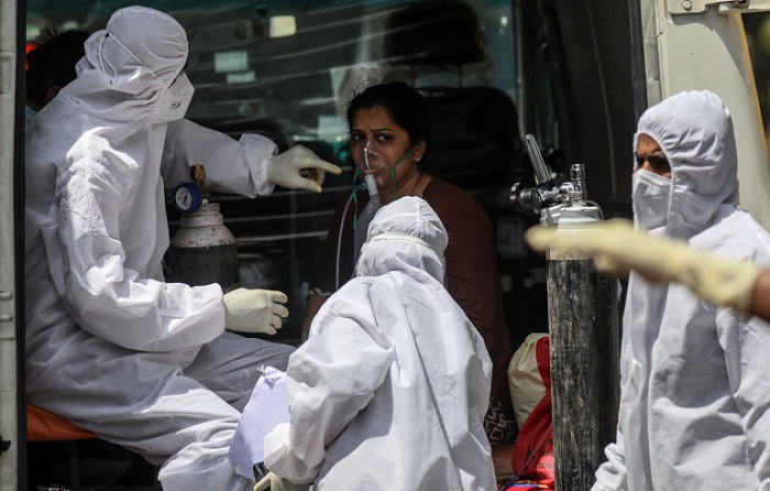 348,421 fresh Covid-19 cases, 4,205 deaths reported in India in 24 hours