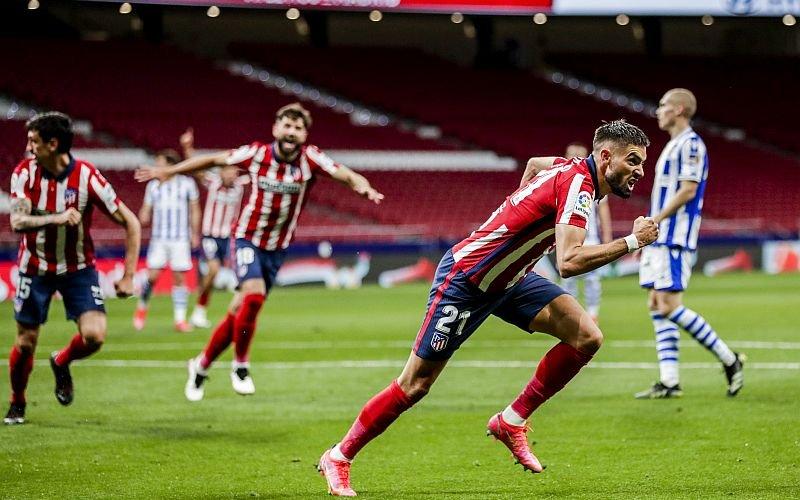 Atletico edge closer to La Liga title after Real Sociedad win