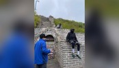 Two tourists banned from China's Great Wall after trespassing on undeveloped section