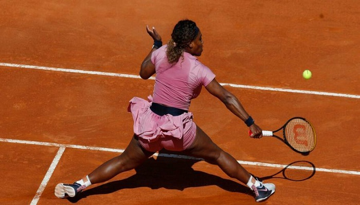 Serena Williams' 1,000th match ends in defeat at Italian Open