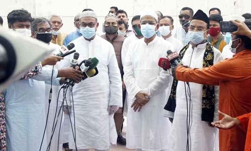 Khaleda Zia's health improving slowly: Fakhrul