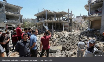 Israel hits Gaza targets in heaviest bombardment