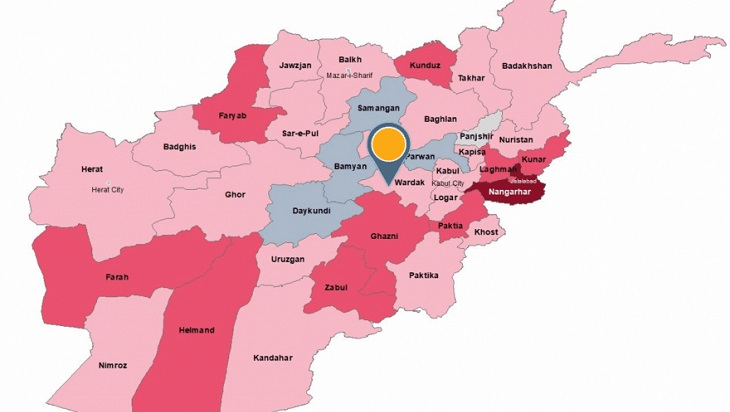Taliban captures a 'district' not far away from Kabul
