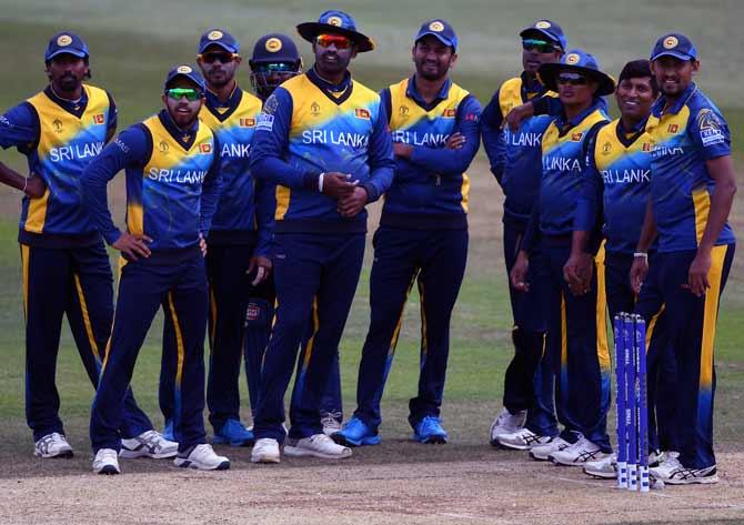Sri Lanka cricket team arrive in Dhaka