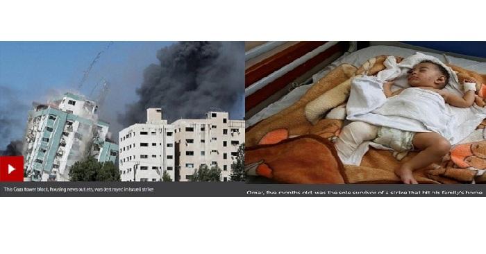 Israel Gaza conflict: Biden calls leaders amid escalating violence