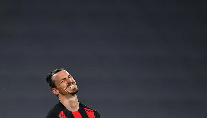 Sweden's Ibrahimovic out of Euro 2020 with knee injury
