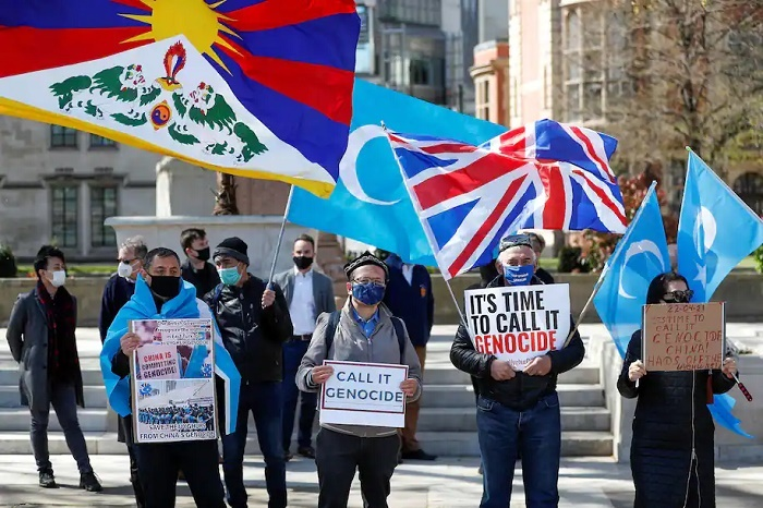 China's repression of Uyghurs is not only cultural, but also physical, a new report shows