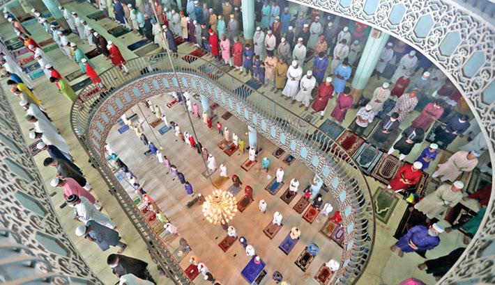 Eid ul-Fitr celebrated
