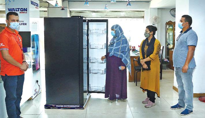 Walton witnesses sharp rise in fridge sales