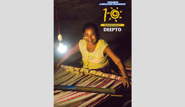 Deepto installs solar home systems in off-grid areas of CHT