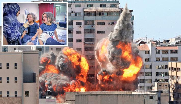Israeli atrocities on Gaza continue