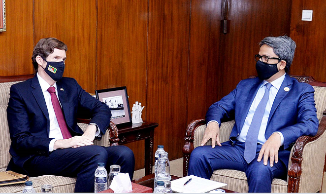 Vaccine delivery: Miller says US actively considering Bangladesh's request