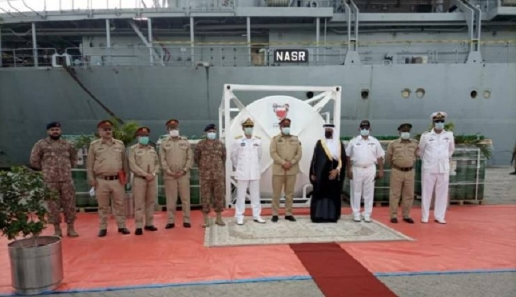 Bahrain dispatches medical equipment and oxygen to Pakistan