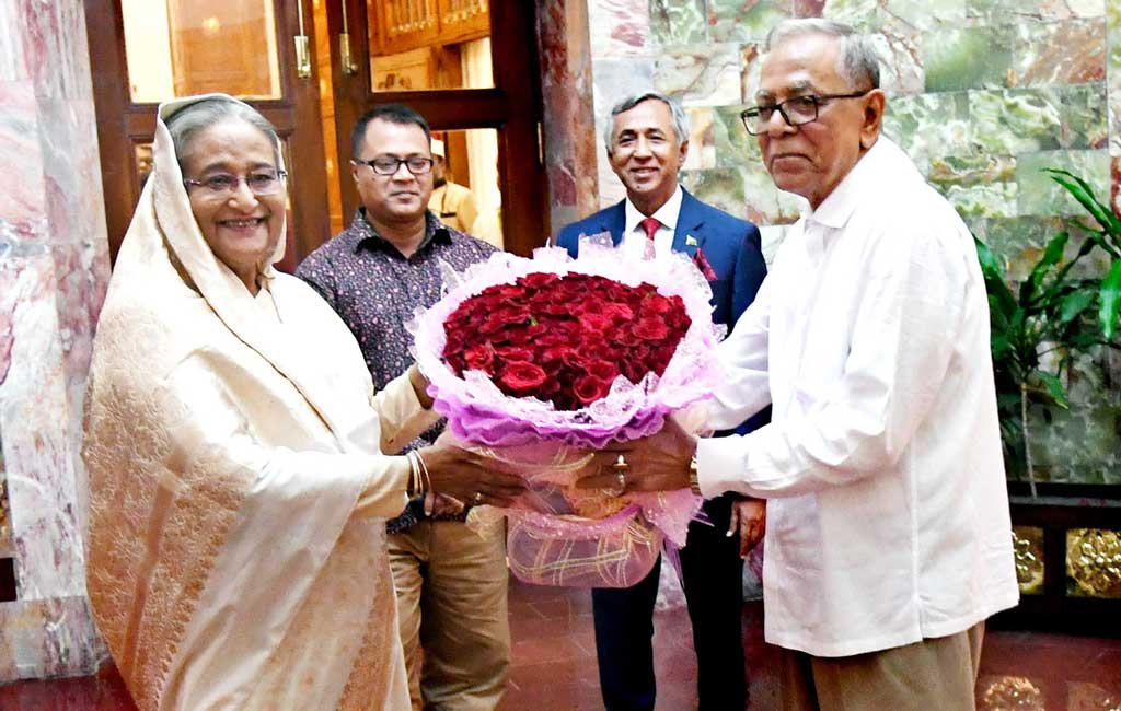 Sheikh Hasina's homecoming is a milestone of country's democracy: President