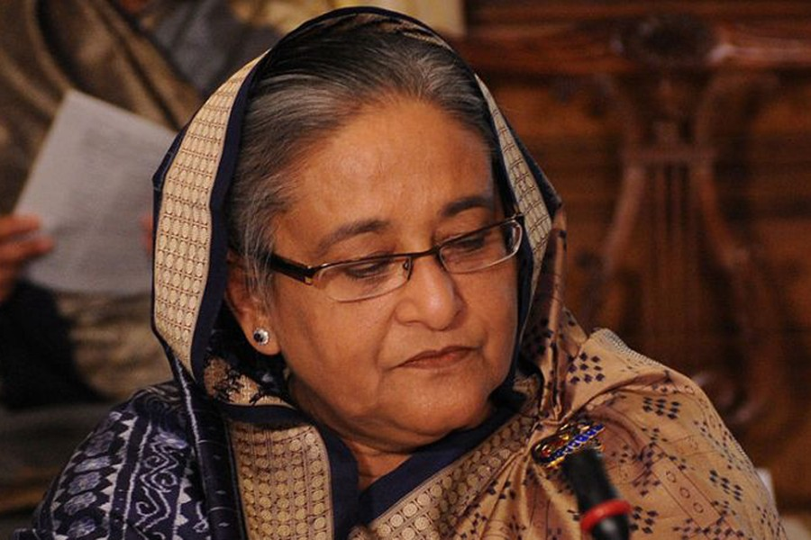 PM shocked at death of  Kishoreganj AL leader Jonab Ali