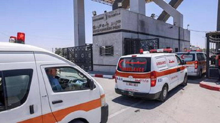 Egypt sends medical aid to Gaza after Israeli strikes