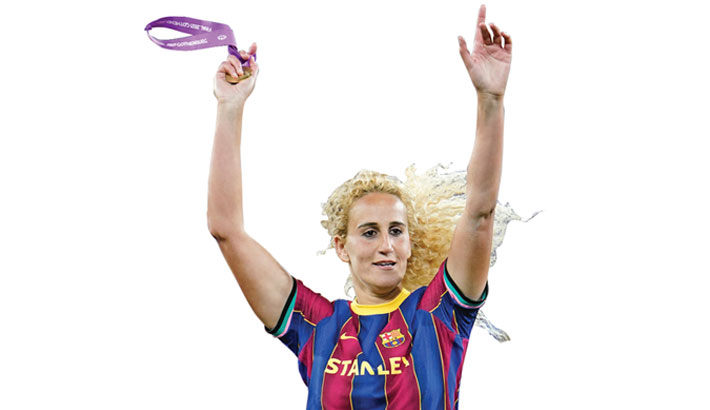 Barcelona win women's Champions League FIRST TIME