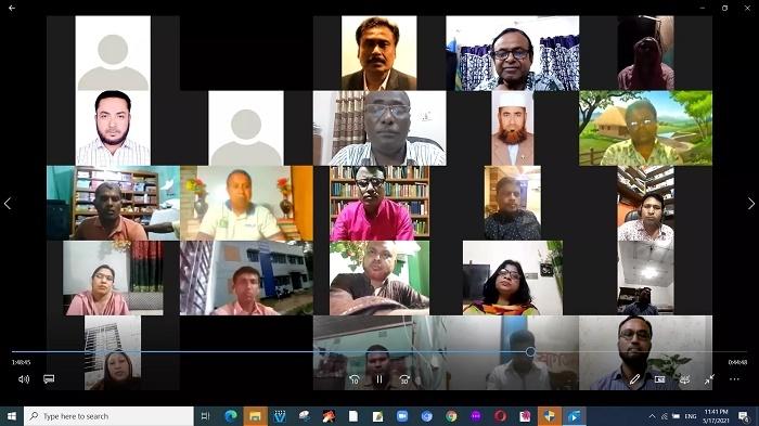 Webinar on Interactive class through e-learning platform held