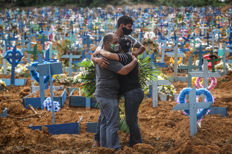 Global Covid-19 deaths top 3.38 million