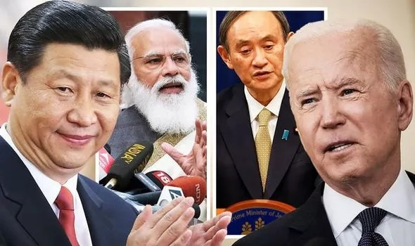 China forcing India, Australia, Japan and US to unite in preparation for major conflict