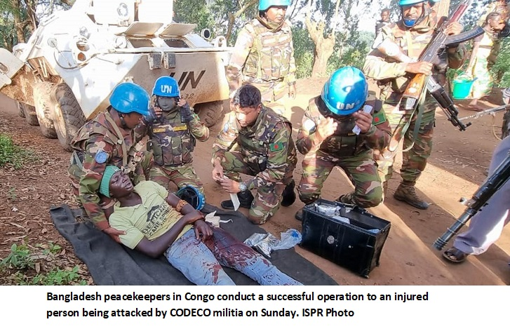 Operational success of Bangladesh peacekeepers against CODECO militias