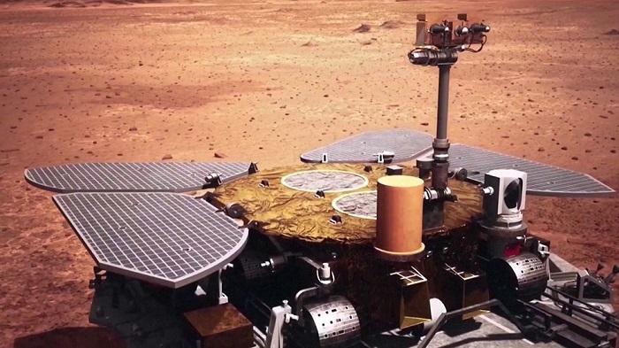 China on Mars: Zhurong rover returns first pictures