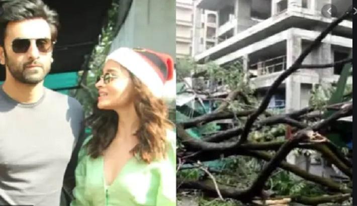 Ranbir Kapoor's under-construction home impacted during heavy Mumbai rains