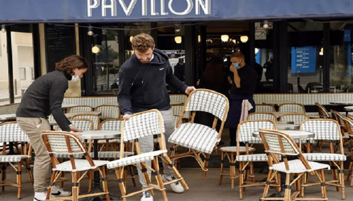 After six months, French cafes, museums and cinemas reopen
