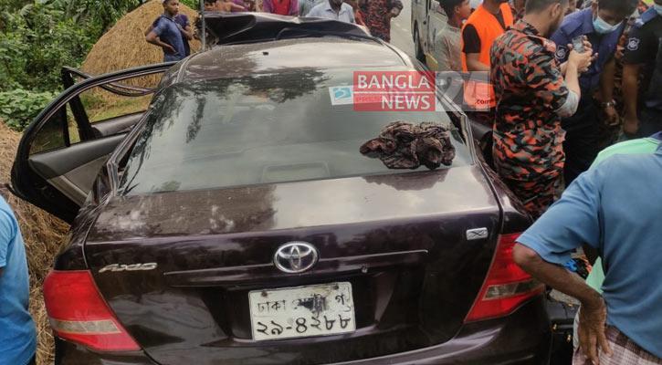 Three killed in Brahmanbaria road crash