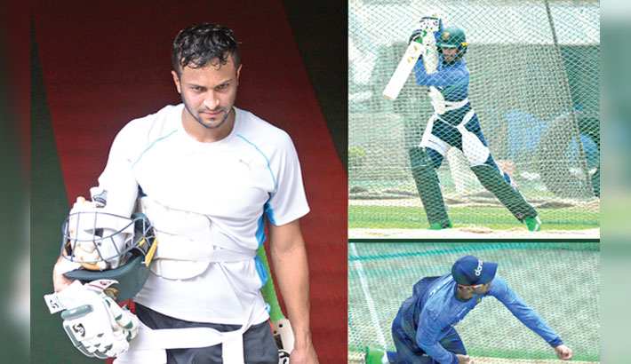 Shakib working hard to get back to his standard