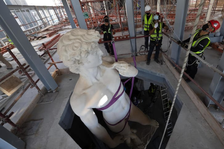 How a 17-foot, 3D-printed twin of Michelangelo's David in Dubai could help revive tourism in Florence