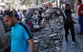 Gaza Strip death toll from Israeli strikes rises to 227