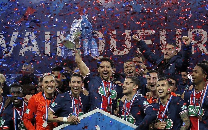 Paris Saint-Germain win French Cup in domestic double bid